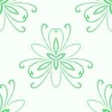 Kwiecisty Świetny Bezszwowy wektoru wzór Obraz Royalty Free