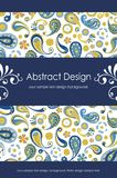 kwiecisty (1) abstrakcjonistyczny tło 5 Obraz Stock