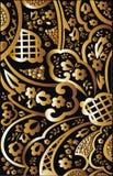kwiecisty abstrakcjonistyczny artystyczny tło Obrazy Royalty Free
