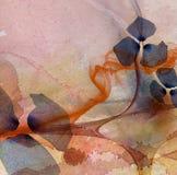 kwiecisty abstrakcjonistyczny tło Zdjęcia Stock