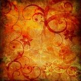 kwiecisty abstrakcjonistyczny tło Zdjęcia Royalty Free