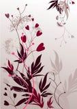 kwiecisty abstrakcjonistyczny tło Obraz Royalty Free