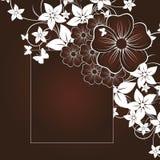 kwiecisty abstrakcjonistyczny tło Zdjęcie Royalty Free