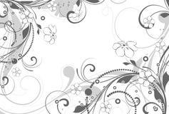 kwiecisty abstrakcjonistyczny tło ilustracji