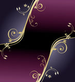 kwiecisty abstrakcjonistyczny tło Obrazy Royalty Free