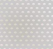 Kwiecisty bezszwowy tło. Abstrakcjonistyczny beż i popielata kwiecista geometryczna Bezszwowa tekstura Obrazy Stock