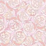 Kwiecisty bezszwowy tło. delikatny kwiatu wzór. Zdjęcia Royalty Free