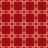 Kwiecisty bezszwowy w adamaszka stylu projekta wzoru tekstury backgroun Fotografia Stock