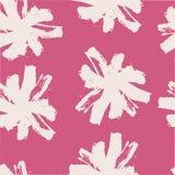Kwiecisty bezszwowy wzór uderzenie rumianku wzór Zdjęcie Royalty Free