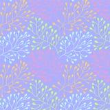 Kwiecisty bezszwowy wzór Zdjęcie Royalty Free
