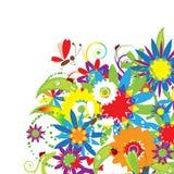 kwiecisty bukieta lato ilustracji