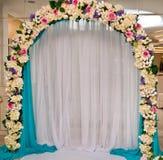 kwiecisty dekoracja ślub zdjęcia royalty free
