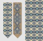 Kwiecisty dekoracyjny etniczny Paisley bookmark Fotografia Royalty Free
