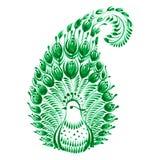Kwiecisty dekoracyjny ornament royalty ilustracja