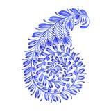 Kwiecisty dekoracyjny ornament Paisley Zdjęcia Stock