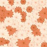 Kwiecisty dekoracyjny tło rocznik, retro Zdjęcie Royalty Free