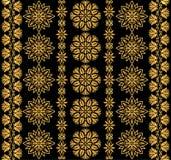 Kwiecisty dekoracyjny tupocze Obraz Royalty Free