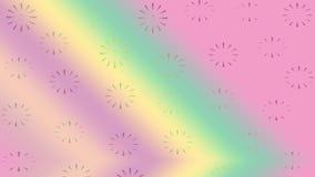 Kwiecisty deseniowy abstrakcjonistyczny tło Fotografia Stock