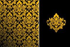 kwiecisty deseniowy bezszwowy Zdjęcia Royalty Free