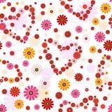 kwiecisty deseniowy bezszwowy valentine Fotografia Stock