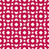 kwiecisty deseniowy bezszwowy wektor Świąteczna czerwień i biel Fotografia Royalty Free