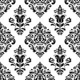 kwiecisty deseniowy bezszwowy wektor Ukierunkowywa abstrakt Obraz Stock