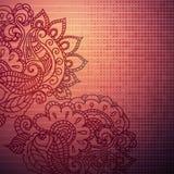 Rocznika Paisley ornamentu tło Obraz Royalty Free
