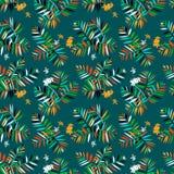 kwiecisty deseniowy tropikalny Obraz Stock
