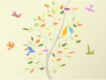 kwiecisty drzewo Obrazy Stock