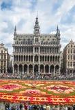 Kwiecisty dywan 2014 w Bruksela Obrazy Stock