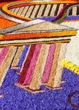 Kwiecisty dywan w Spello Fotografia Royalty Free
