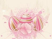 kwiecisty Easter jajko Zdjęcie Stock