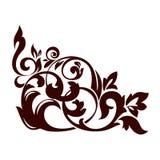 Kwiecisty element Zdjęcie Royalty Free