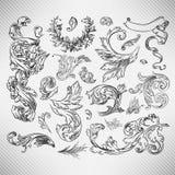 kwiecisty elementu set royalty ilustracja