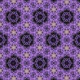 Kwiecisty fiołek i purpurowy ciągły tło zdjęcie royalty free