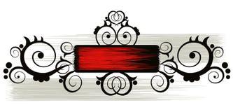 kwiecisty graniczny Obrazy Royalty Free