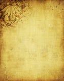 Kwiecisty Grunge tło Zdjęcia Royalty Free