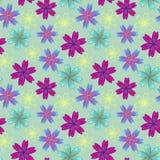 Kwiecisty kolorowy wzór Zdjęcie Royalty Free