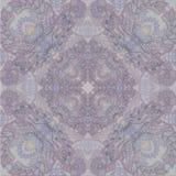 Kwiecisty koronkowy tło, orientalna motyw menchia Zdjęcia Royalty Free