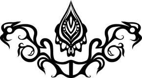 Kwiecisty ornament Zdjęcie Royalty Free