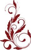 kwiecisty ornament Zdjęcia Royalty Free