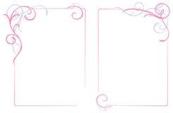 kwiecisty ornament ramowy abstrakcyjne Zdjęcie Stock