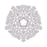 kwiecisty ornamental kwiecisty wzór Dekoracyjna kreskowej sztuki rama dla projekta szablonu Elegancki wektorowy element, miejsce  Zdjęcie Royalty Free