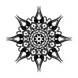 kwiecisty ornamental kwiecisty wzór Ornament z roczników elementami Fotografia Stock