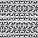 Kwiecisty poligonalny sześcianu kształta wzoru tło lub szablon obrazy royalty free