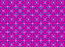 Kwiecisty Różowy prezenta Opakunkowego papieru wzór Fotografia Stock