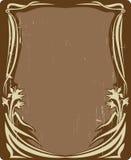 kwiecisty ramowy rocznik Zdjęcie Royalty Free
