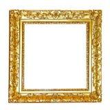 kwiecisty ramowy złoto Zdjęcia Royalty Free