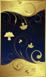 kwiecisty swirly royalty ilustracja