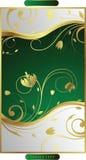 kwiecisty swirly ilustracja wektor